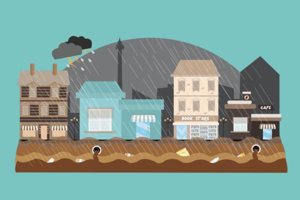 台風や洪水などの自然災害による天候に左右されないインターネットビジネスという仕事