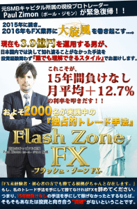 Flash Zone FXフラッシュゾーンFX豪華特典付き